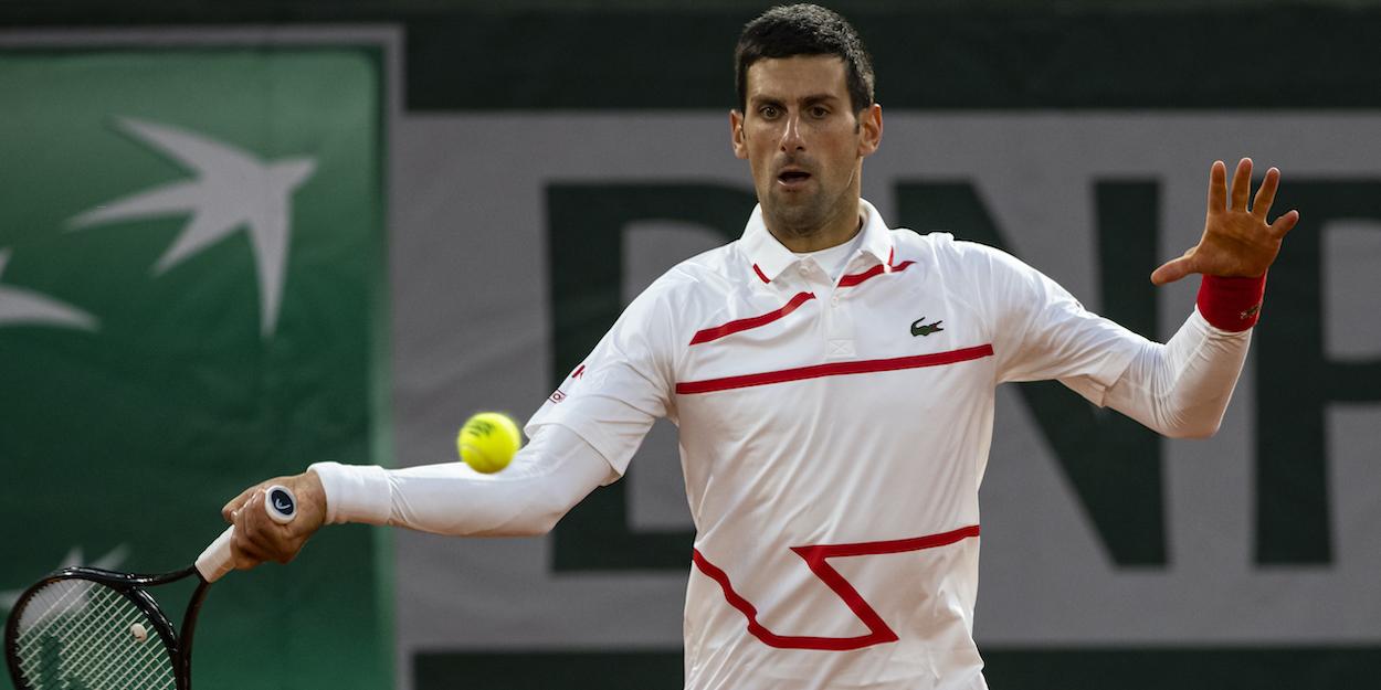 Djokovic Roland Garros 2020