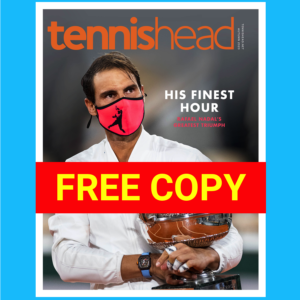 FREE Tennishead magazine October 2020