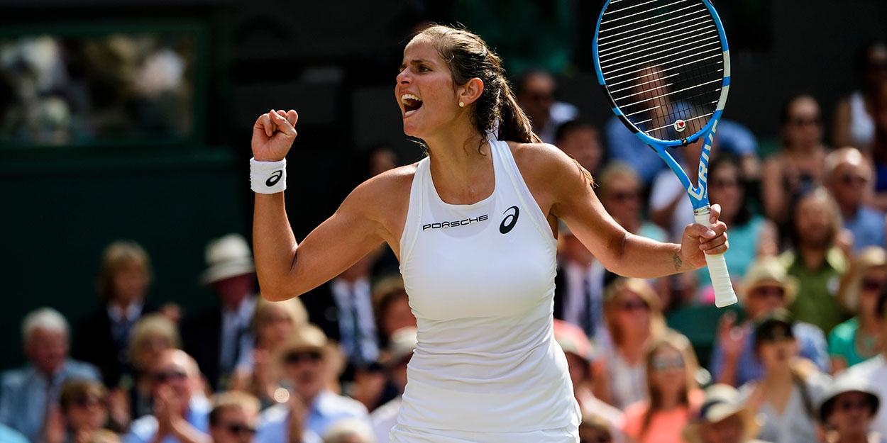 Julia Goerges former Wimbledon semi-finalist