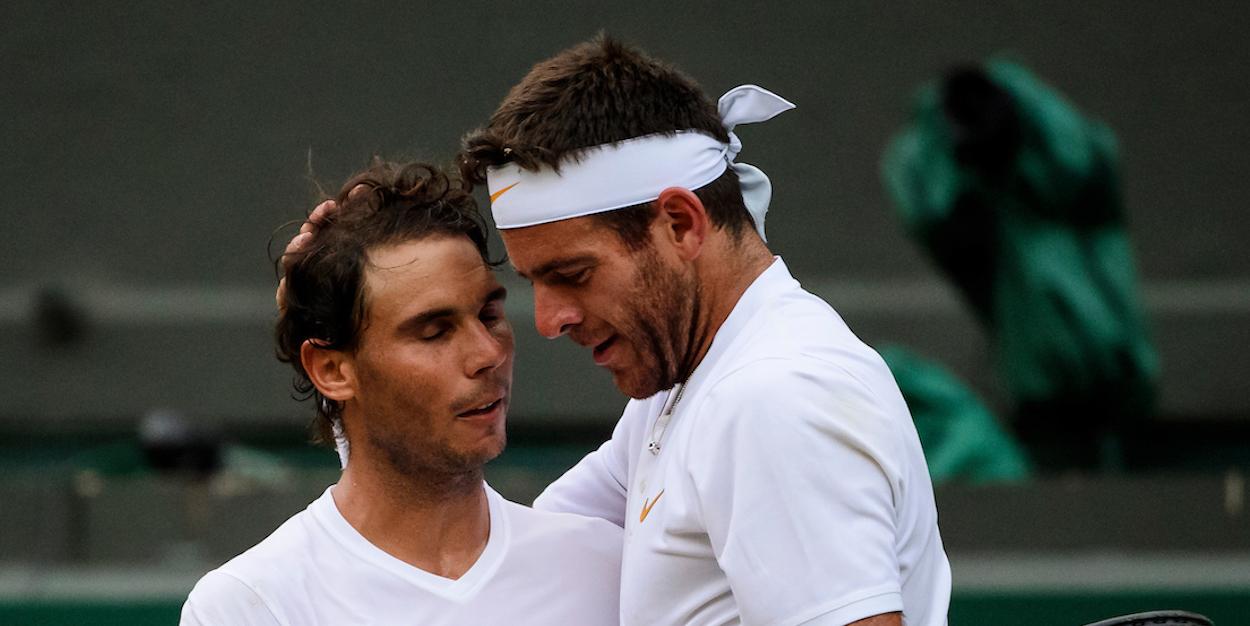Nadal beats Del Potro Wimbledon 2018