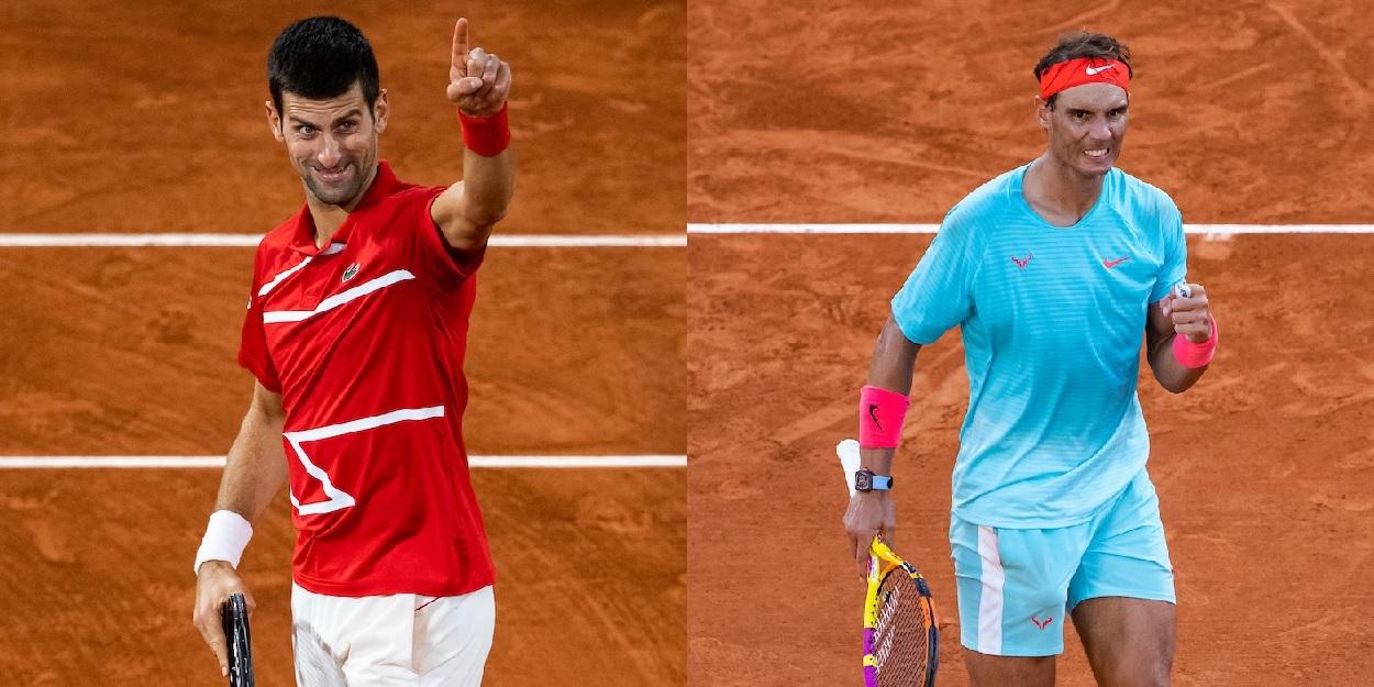 Rafael Nadal Novak Djokovic