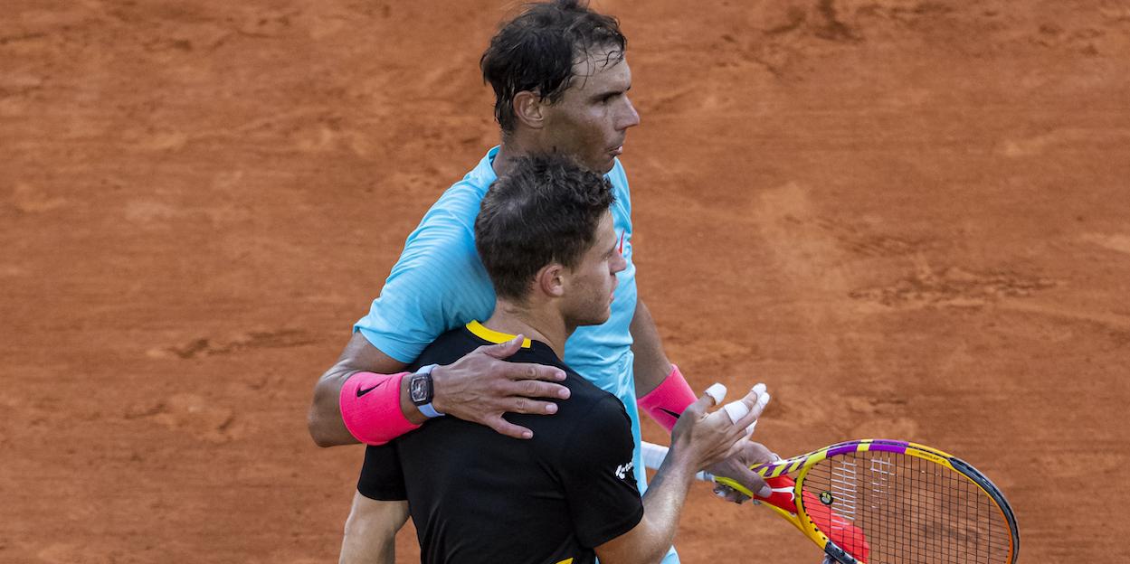 Nadal Schwartzman French Open 2020