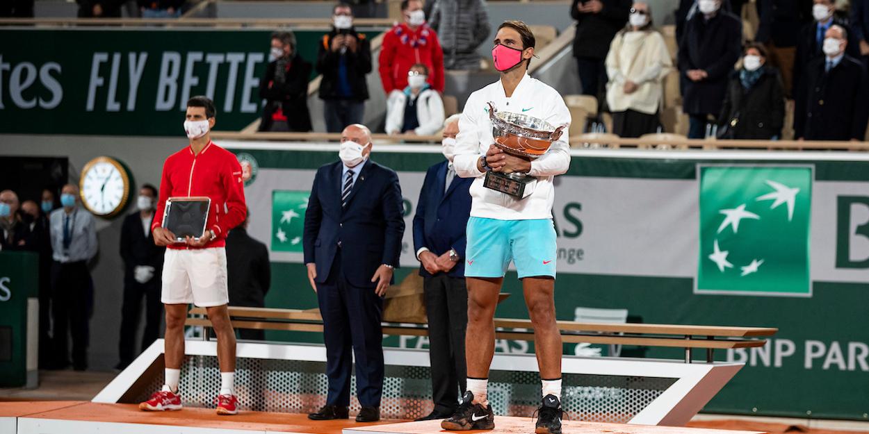 Rafa Nadal French Open champion 2020