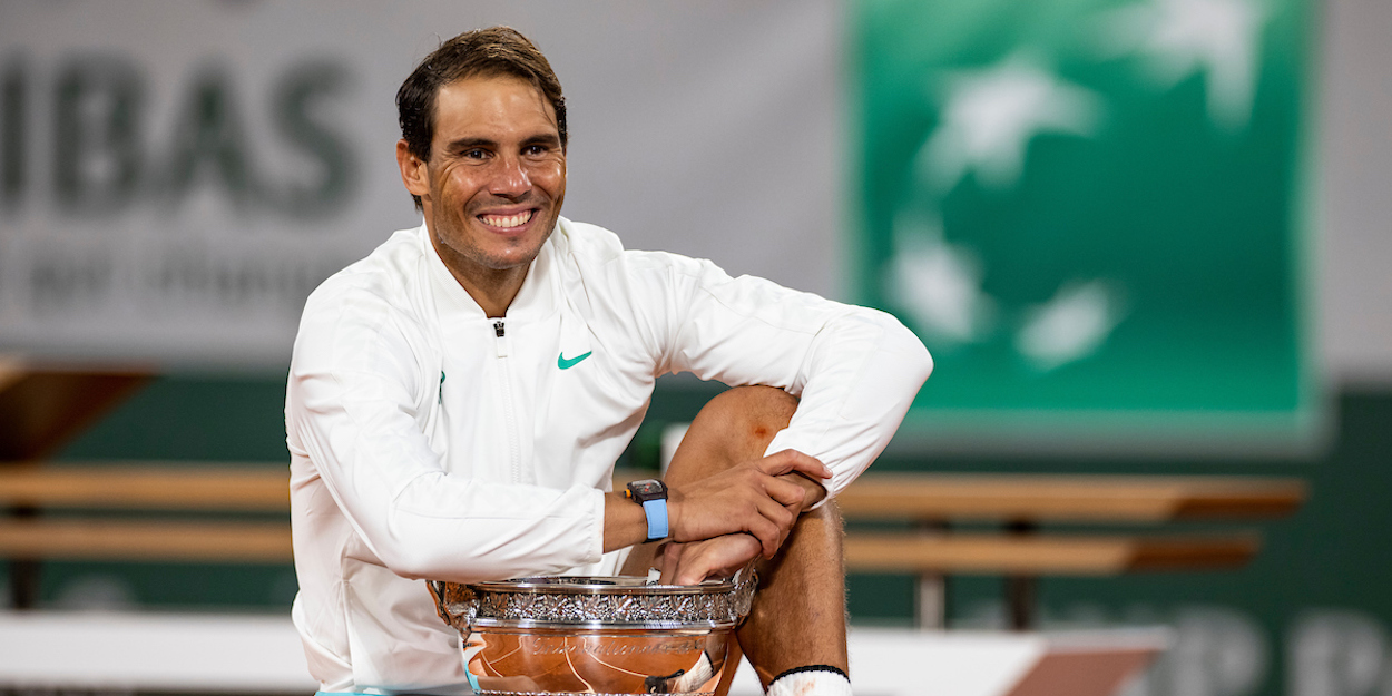 Rafa Nadal French Open trophy 2020
