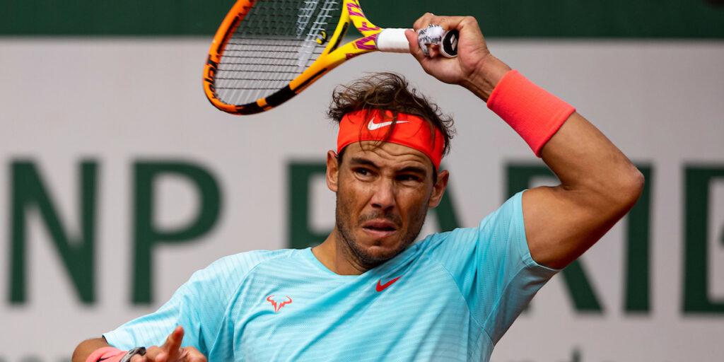 Rafa Nadal forehand French Open 2020