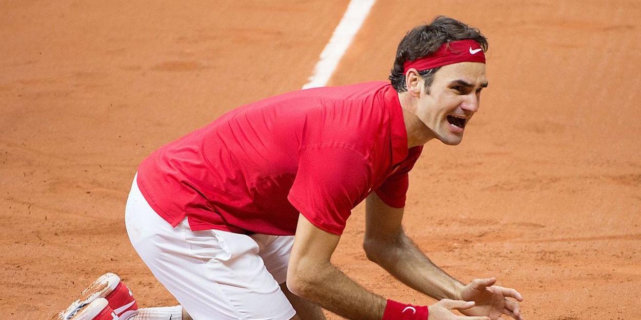 Federer beats Gasquet Davis Cup final 2014