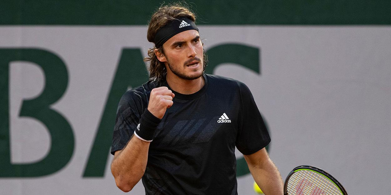 Stefanos Tsitsipas at Roland Garros