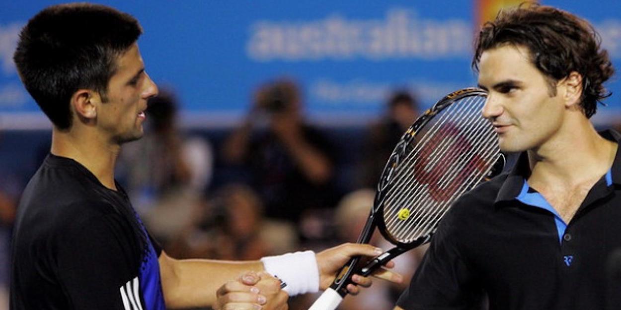 Djokovic beats Federer Australian Open 2008