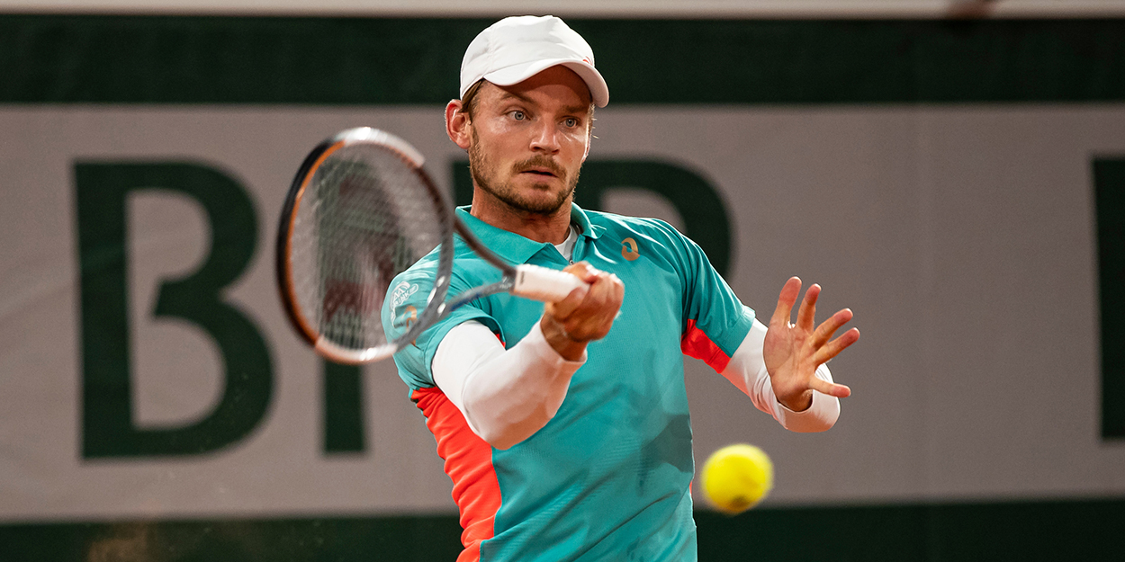 David Goffin at French Open