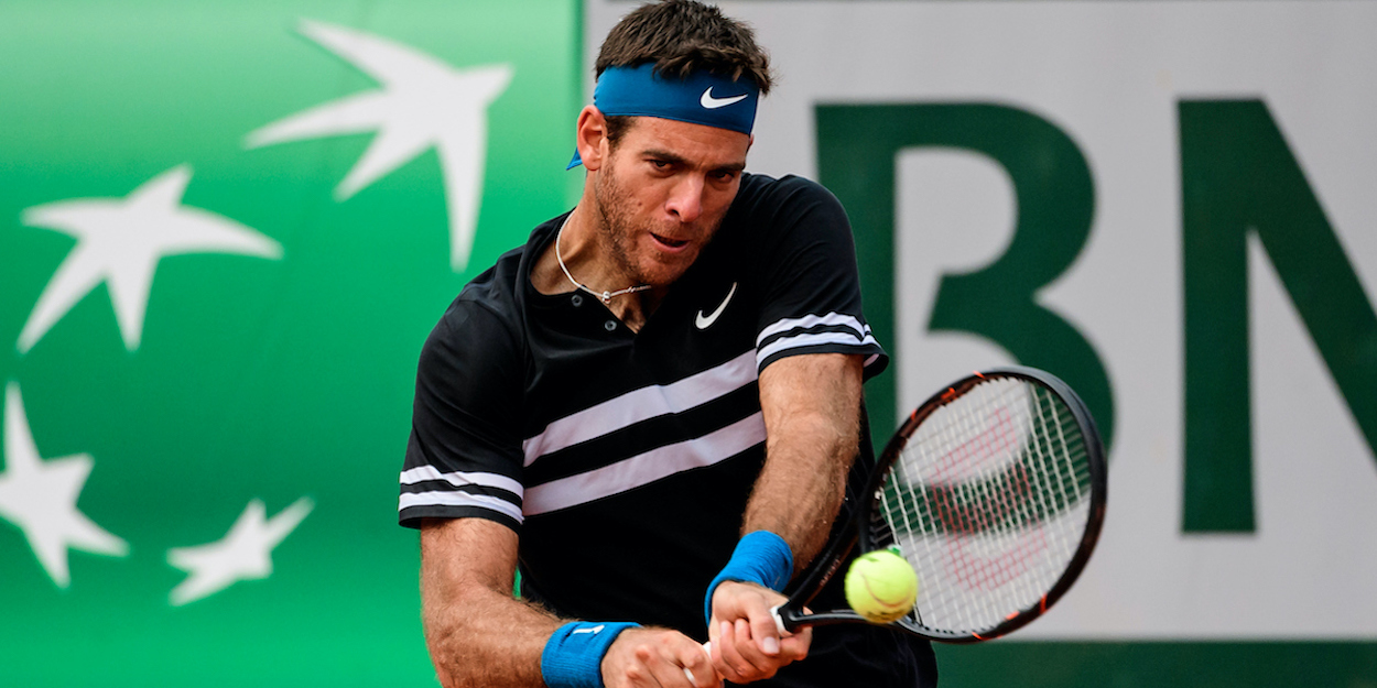 Del Potro Roland Garros