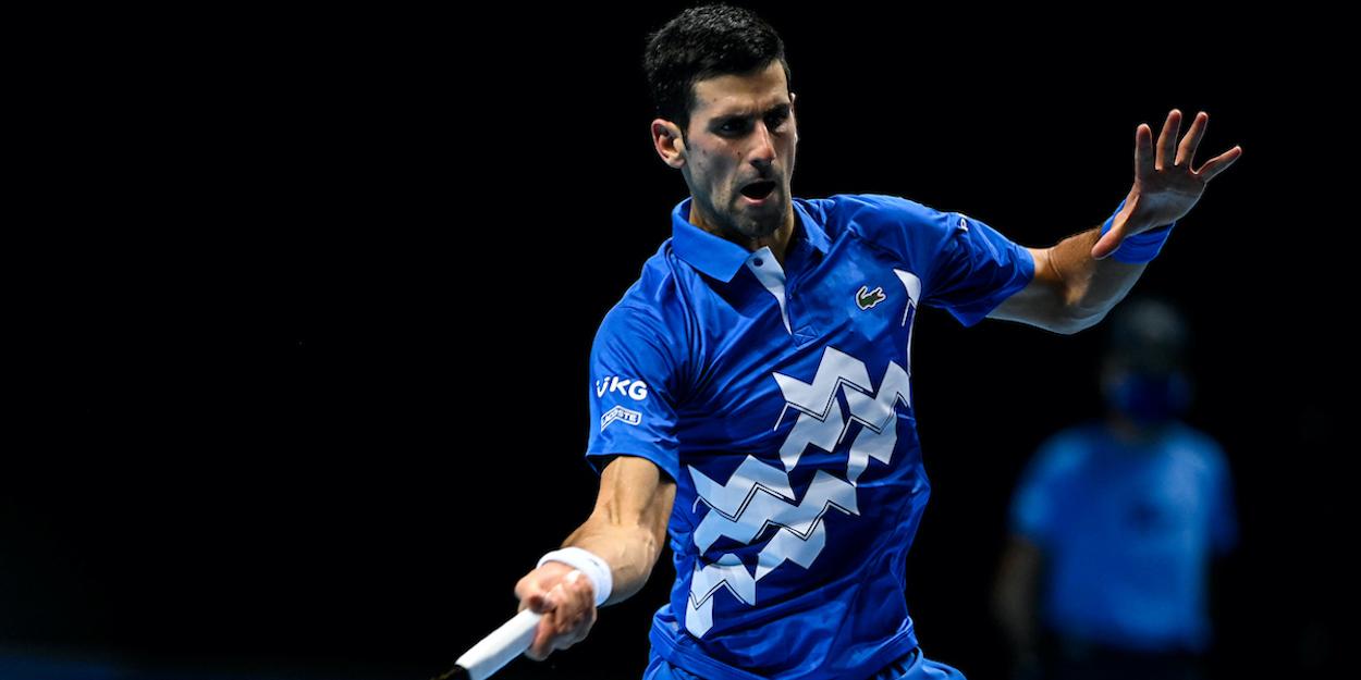 Djokovic ATP Finals 2020