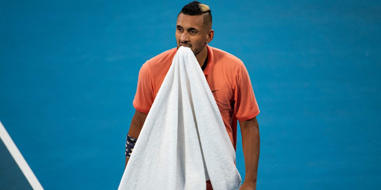 Kyrgios at Austalian Open 2020