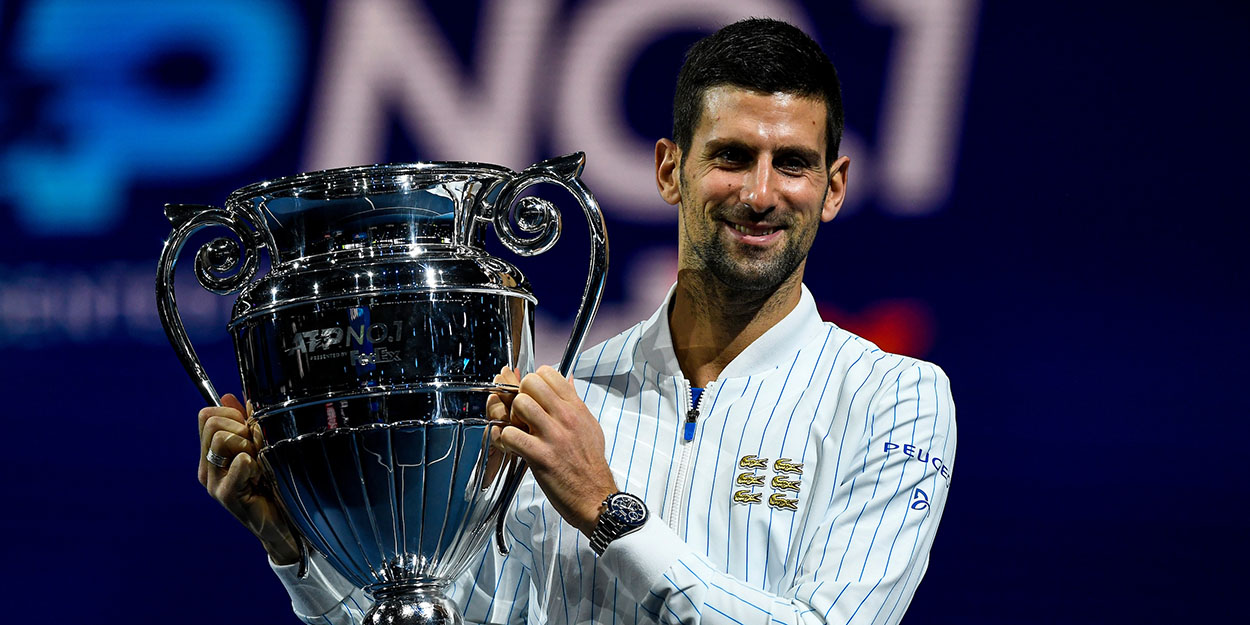 Novak Djokovic year end world number one