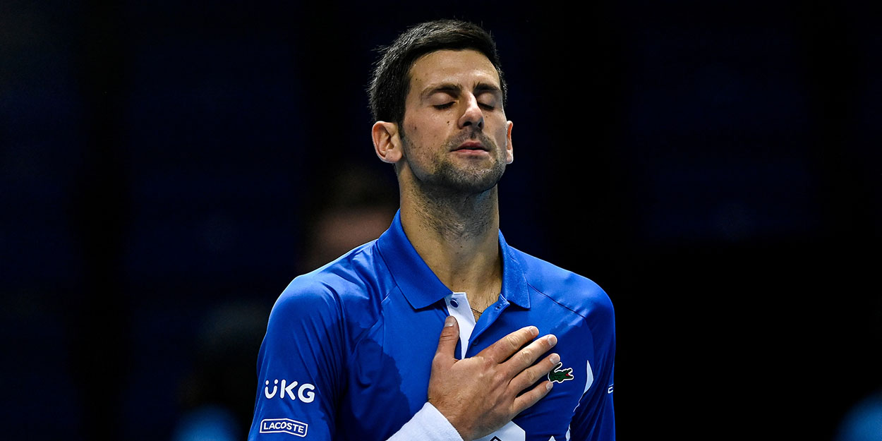 Novak Djokovic salute ATP Finals