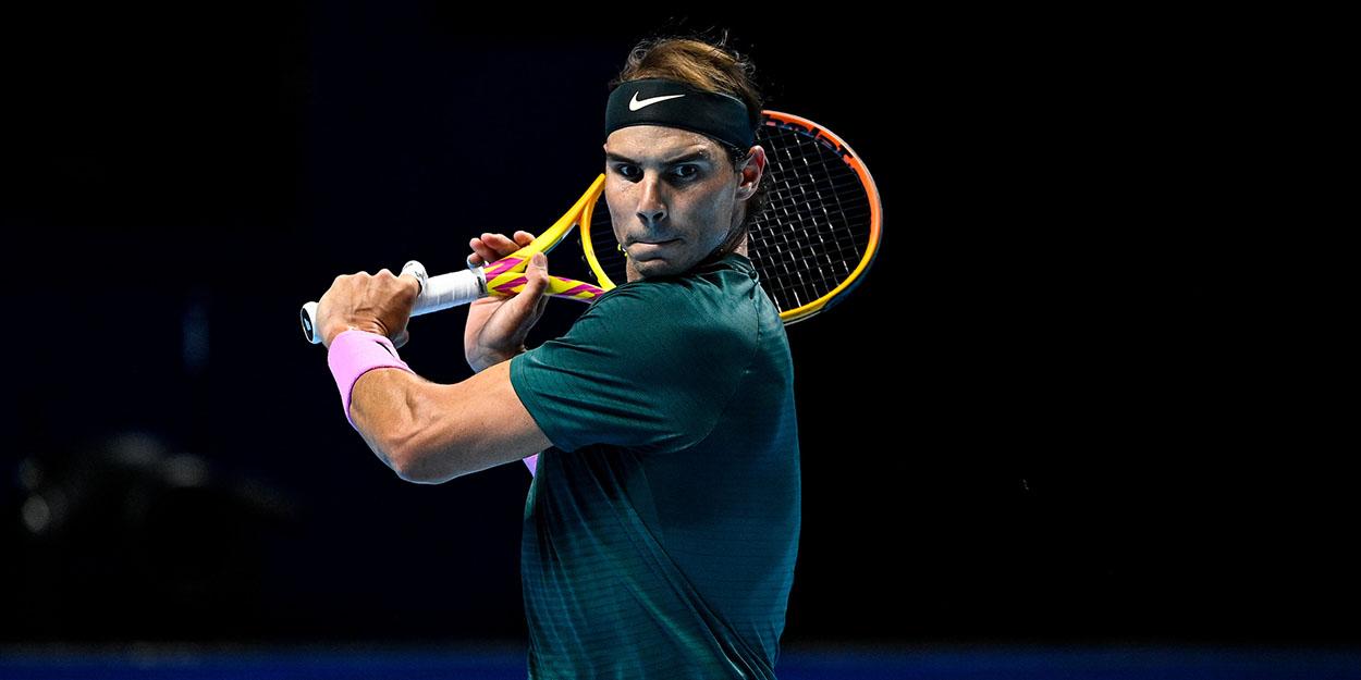 Rafael Nadal ATP Finals 2020