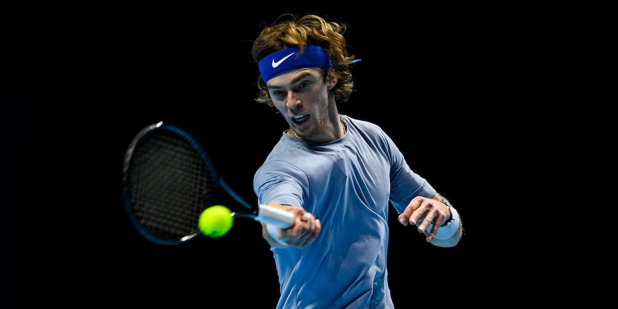 Rublev ATP Finals 2020