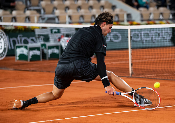 Dominic Thiem has always felt especially comfortable playing on clay