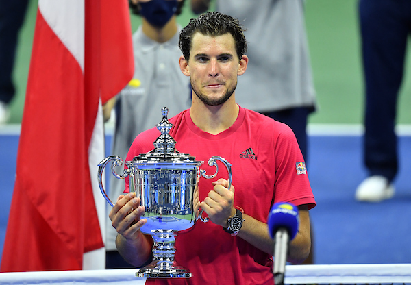 Dominic Thiem won the 2020 US Open after losing in his previous 3 Grand Slam finals