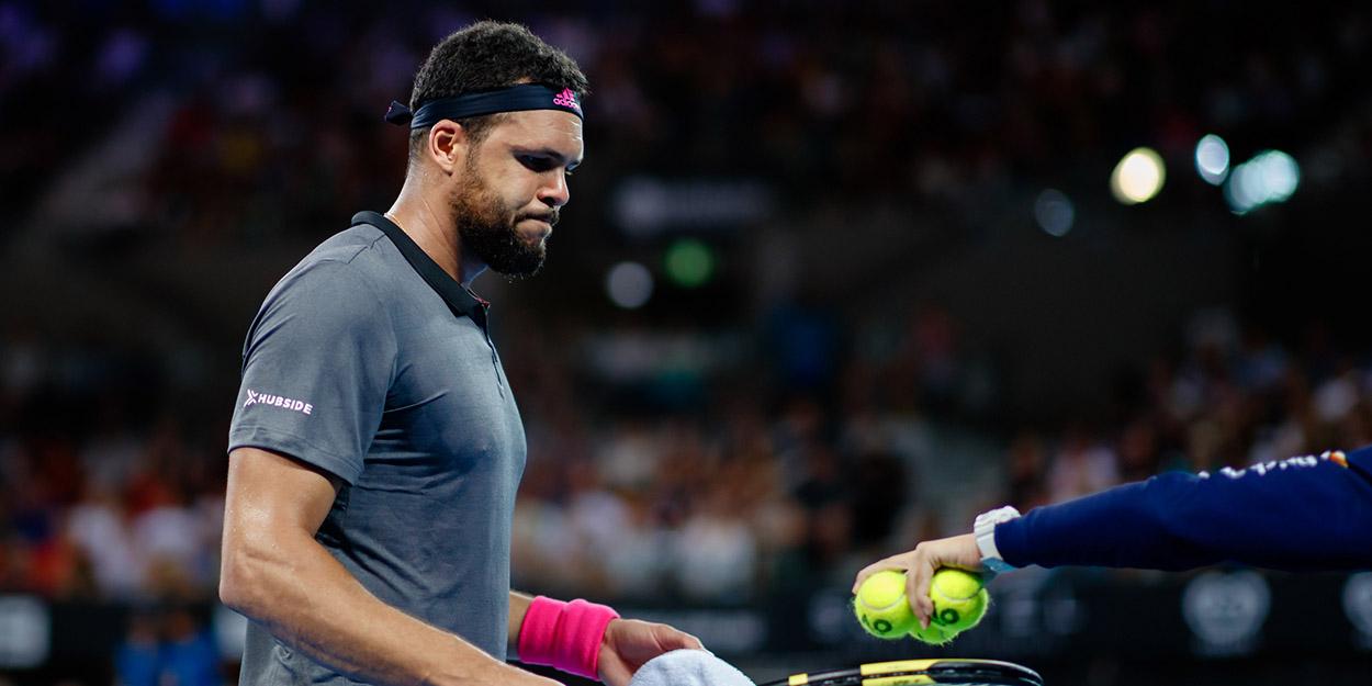 Jo-Wilfried Tsonga at Australian Open