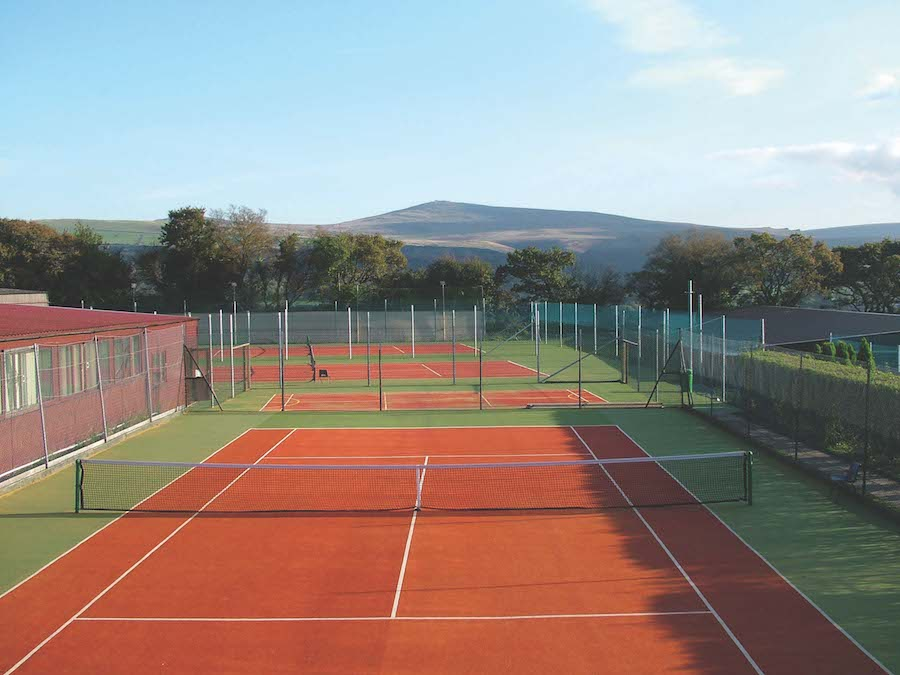 The Manor House Hotel Outdoor Tennis