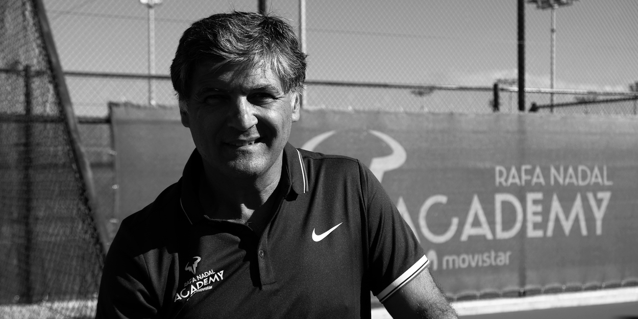 Toni Nadal Head of the Rafa Nadal Academy