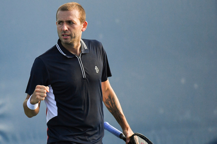 Dan Evans preparing for Australian Open