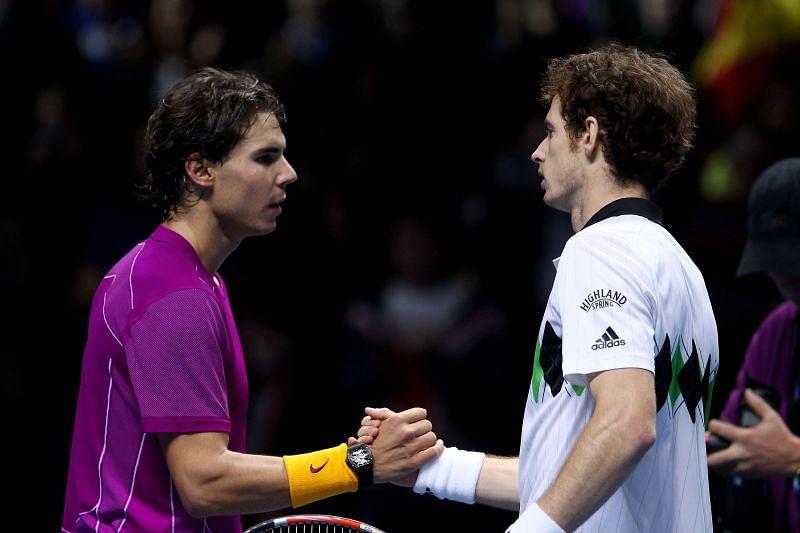 Murray Nadal ATP Finals 2010
