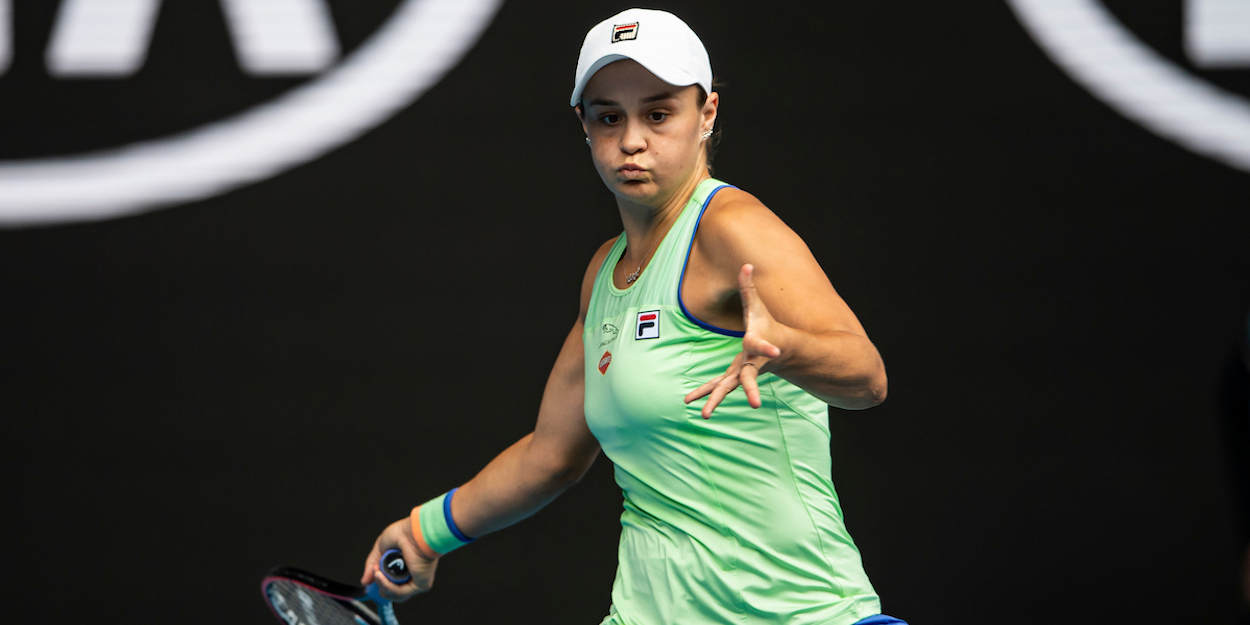 Ash Barty Australian Open 2020