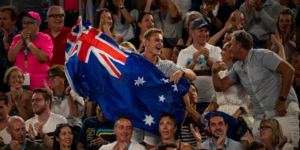 Australian Open Ambience