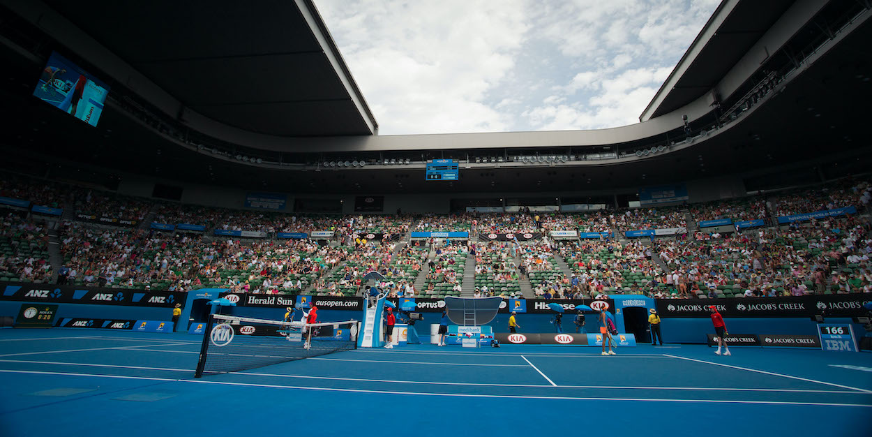 Australian Open Crowd