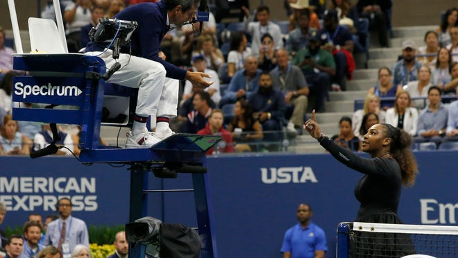 At the 2009 US Open an official was subjected to a profanity-laced tirade from Serena Williams