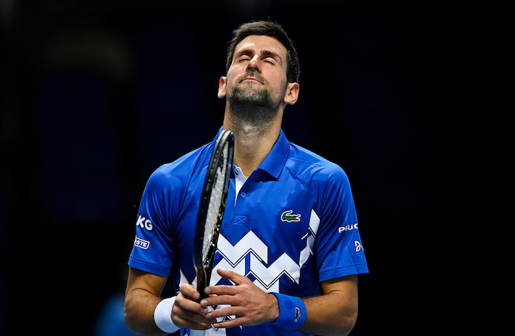 Djokovic hopes for better at the ATP Finals 2020