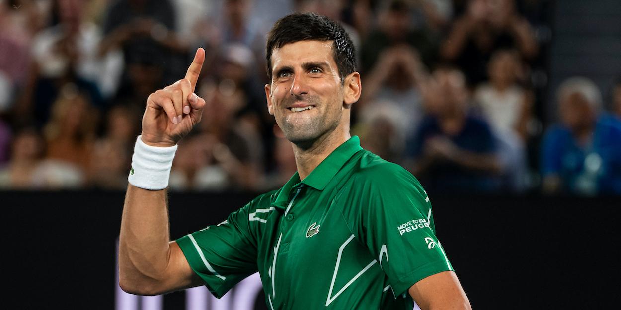 Djokovic Australian Open 2020