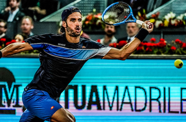 Feliciano Lopez, pictured here now playing at the tournament where he is now tournament director, says that reductions in prize money are inevitable
