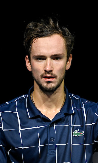 Daniil Medvedev celebrated victory at the Nitto ATP Finals in 2020 with victory over Dominic Thiem in the final