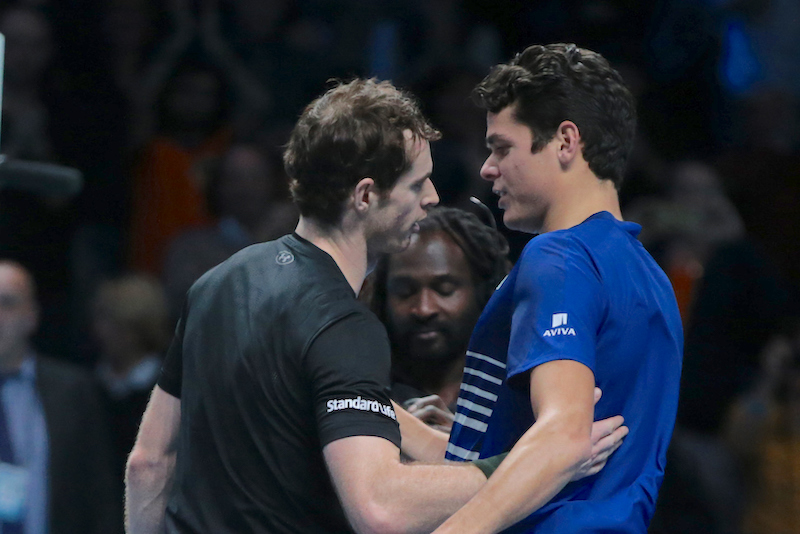 Murray Raonic ATP Finals 2016