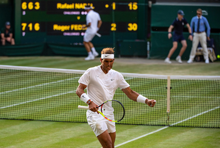 Rafael Nadal vs Roger Federer Wimbledon 2019