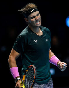 Rafael Nadal has failed to win a single title at the indoor ATP Tour Finals