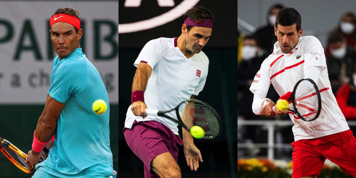 Roger Federer Rafa Nadal Novak Djokovic