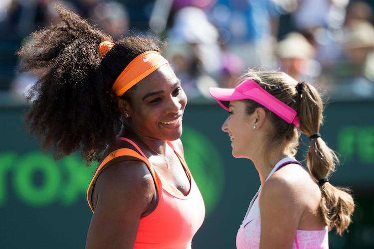 Cic Bellis and Serena Williams