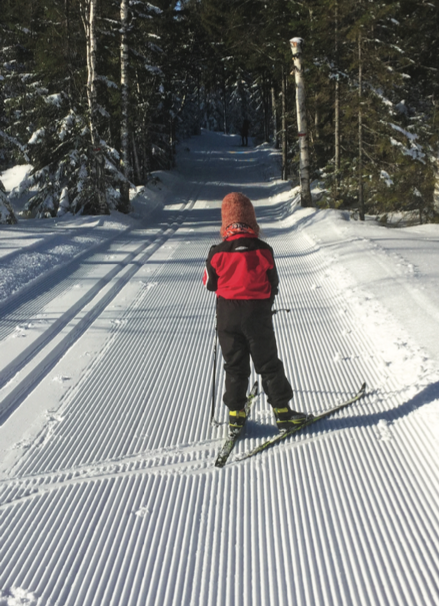 Casper Ruud says that Norwegians are 'born with skis on their feet'