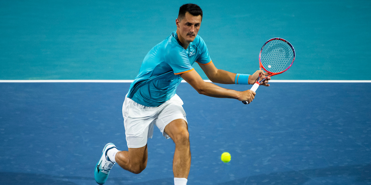 Tomic Miami Open 2019