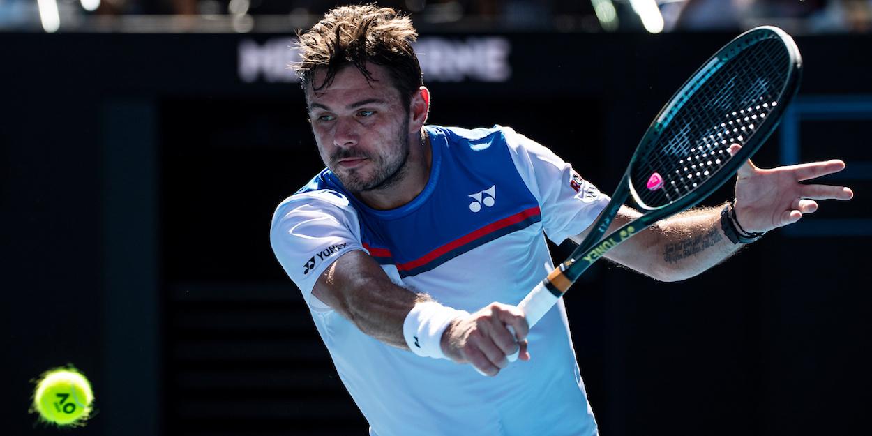 Wawrinka Australian Open 2020