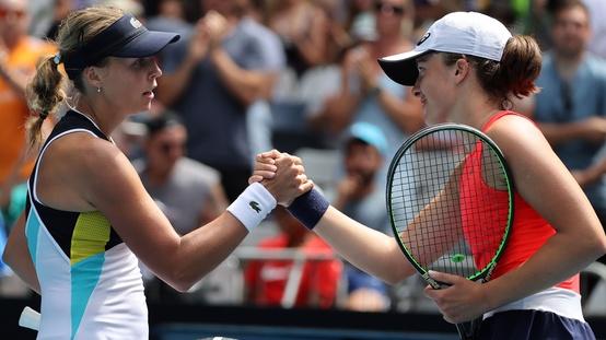 Swiatek vs Kontaveit Australian Open 2020