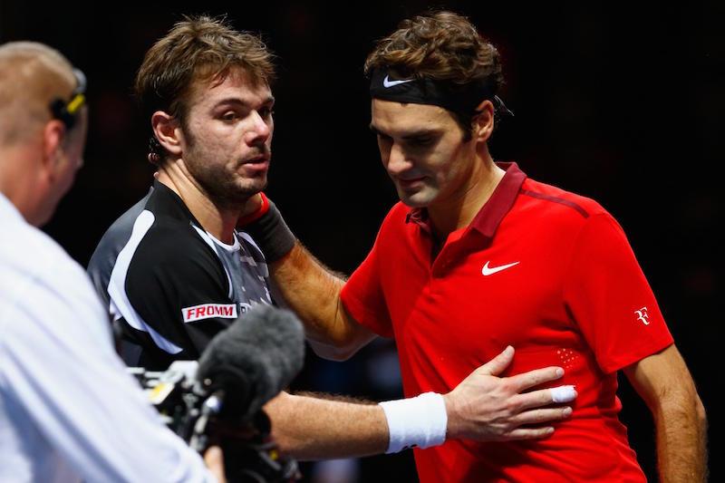 ATP Finals Federer Wawrinka 2014
