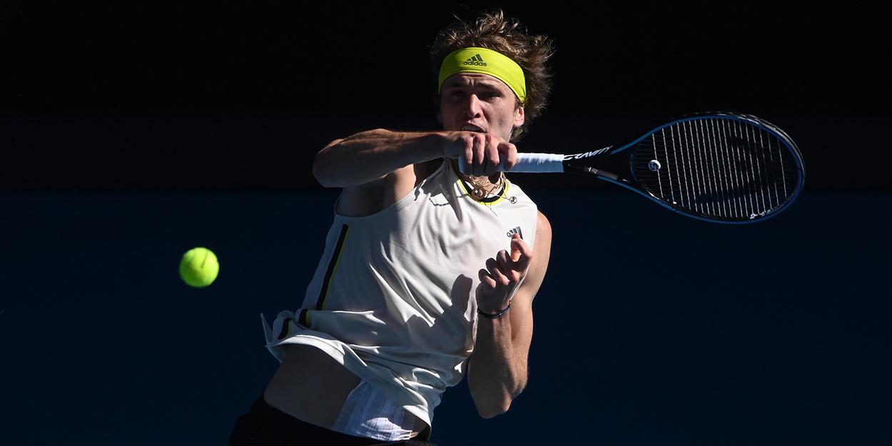 Alexander Zverev forehand Australian Open