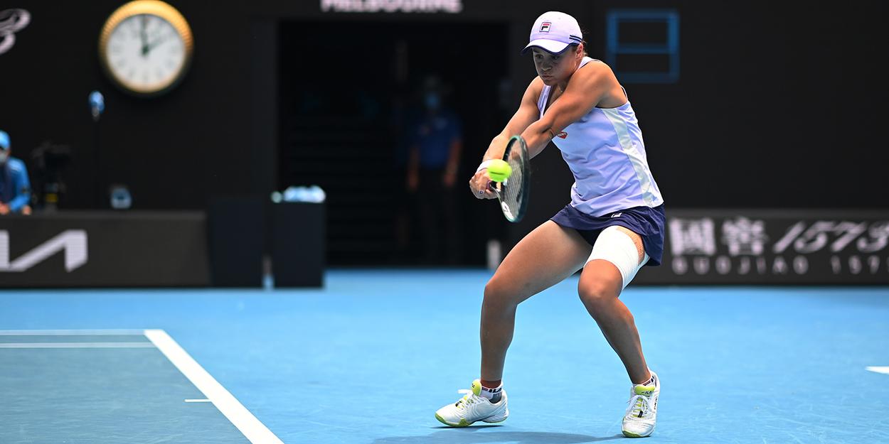 Ashleigh Barty Australian Open injury