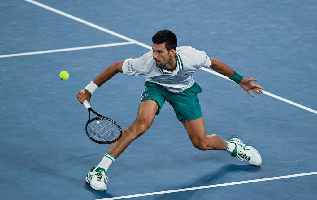 Novak Djokovic Stretch