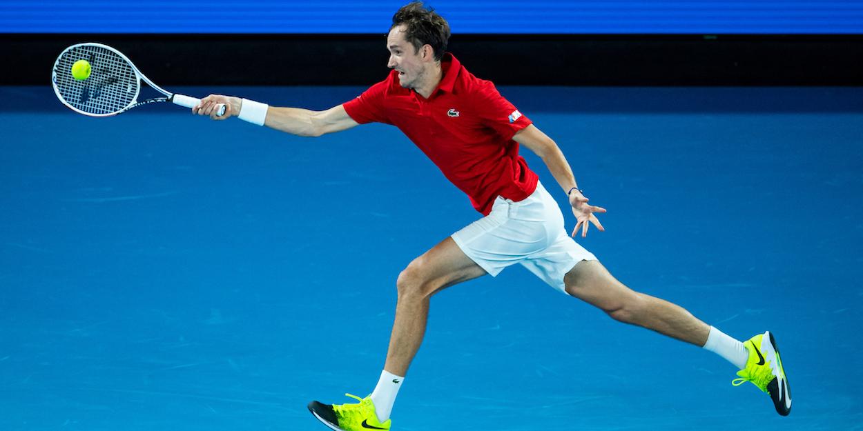 Daniil Medvedev Australian Open 2021