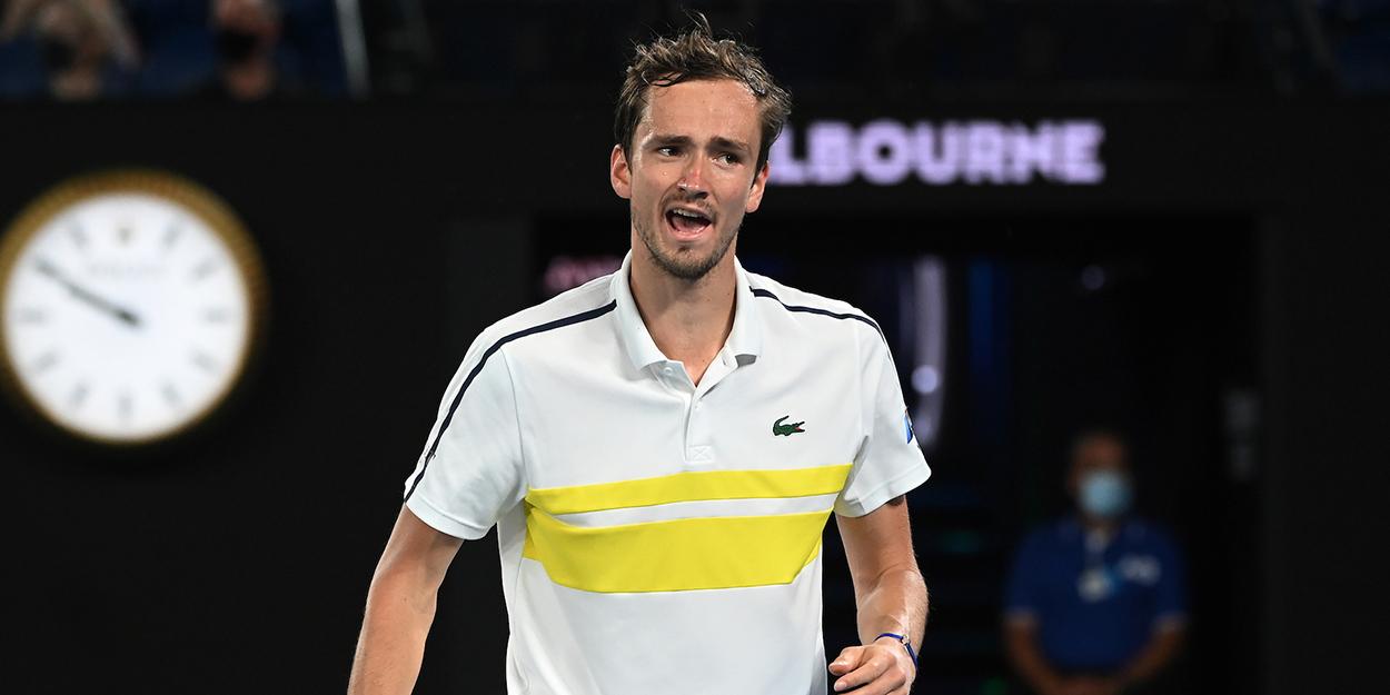 Daniil Medvedev Australian Open semi